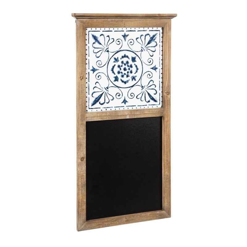Wall Chalkboard with Embossed Design
