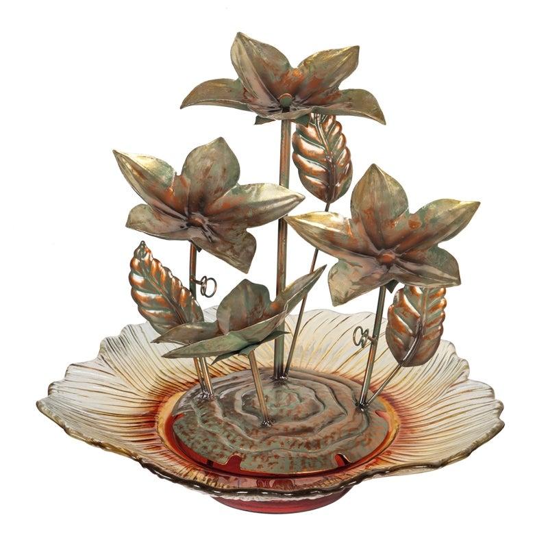 Bronze Flower Fountain