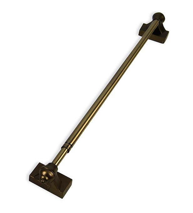 "Adjustable Magnetic Curtain Rod, 15-28"""