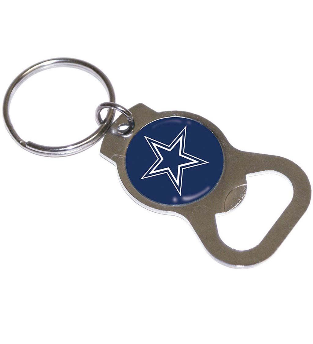 Dallas Cowboys Bottle Opener Key Ring