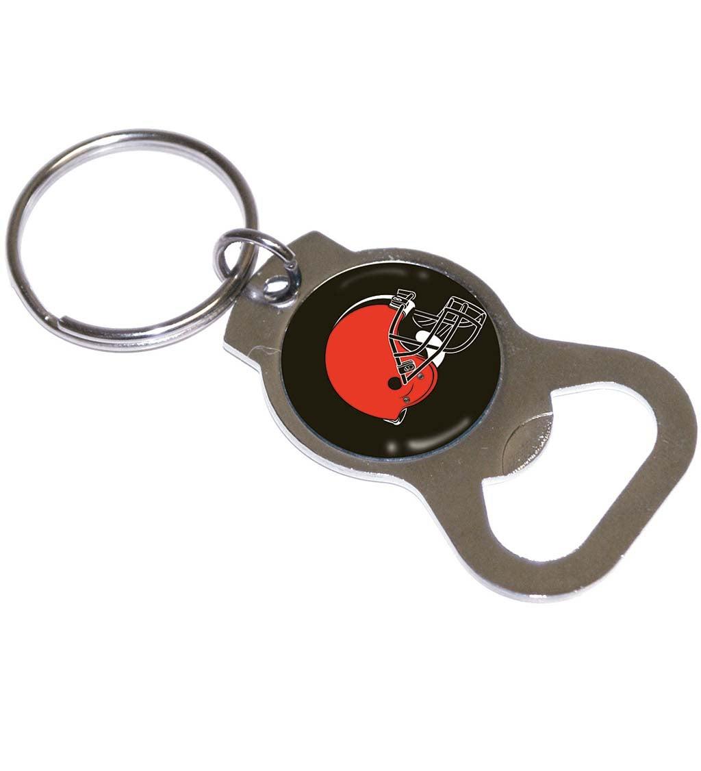 Cleveland Browns Bottle Opener Key Ring