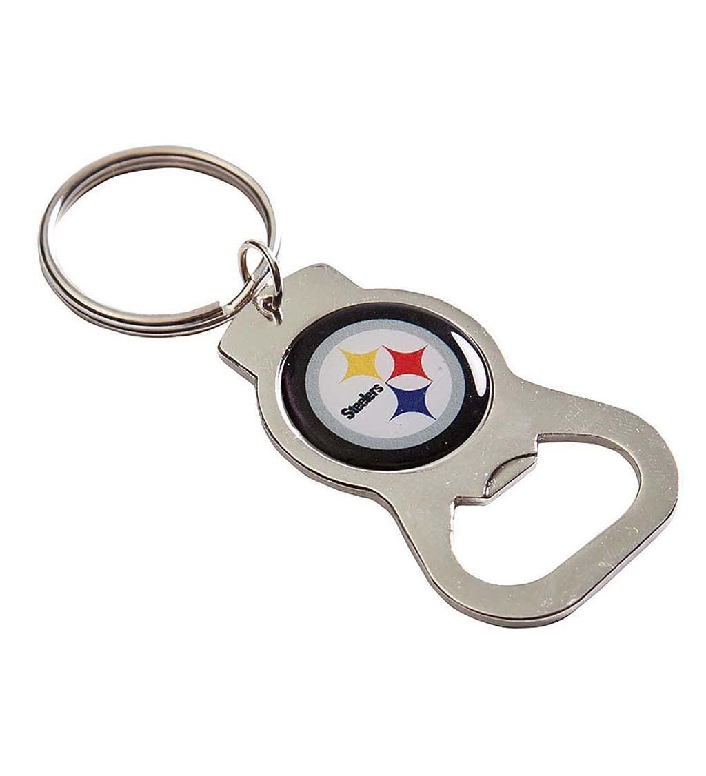 Pittsburgh Steelers Bottle Opener Key Ring