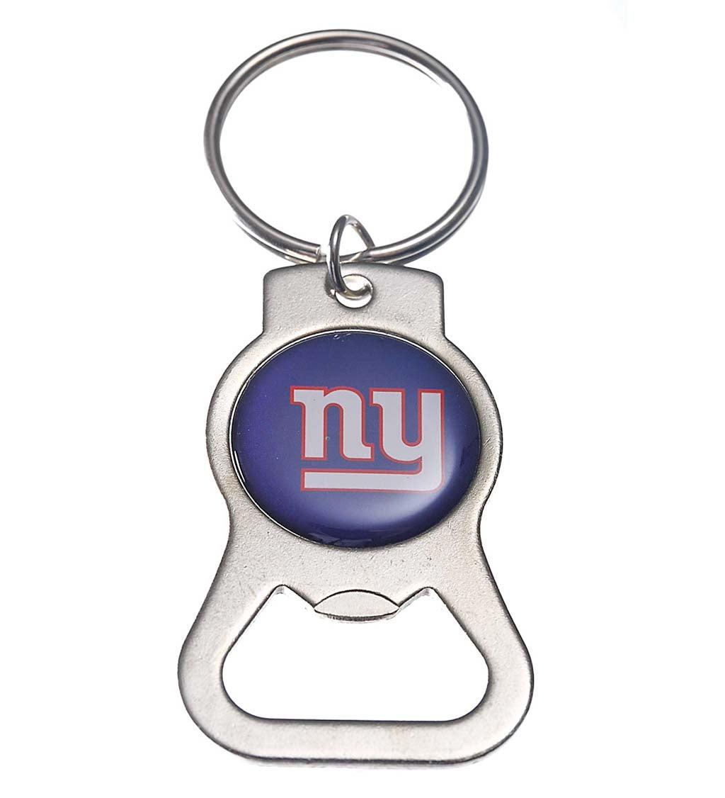 New York Giants Bottle Opener Key Ring