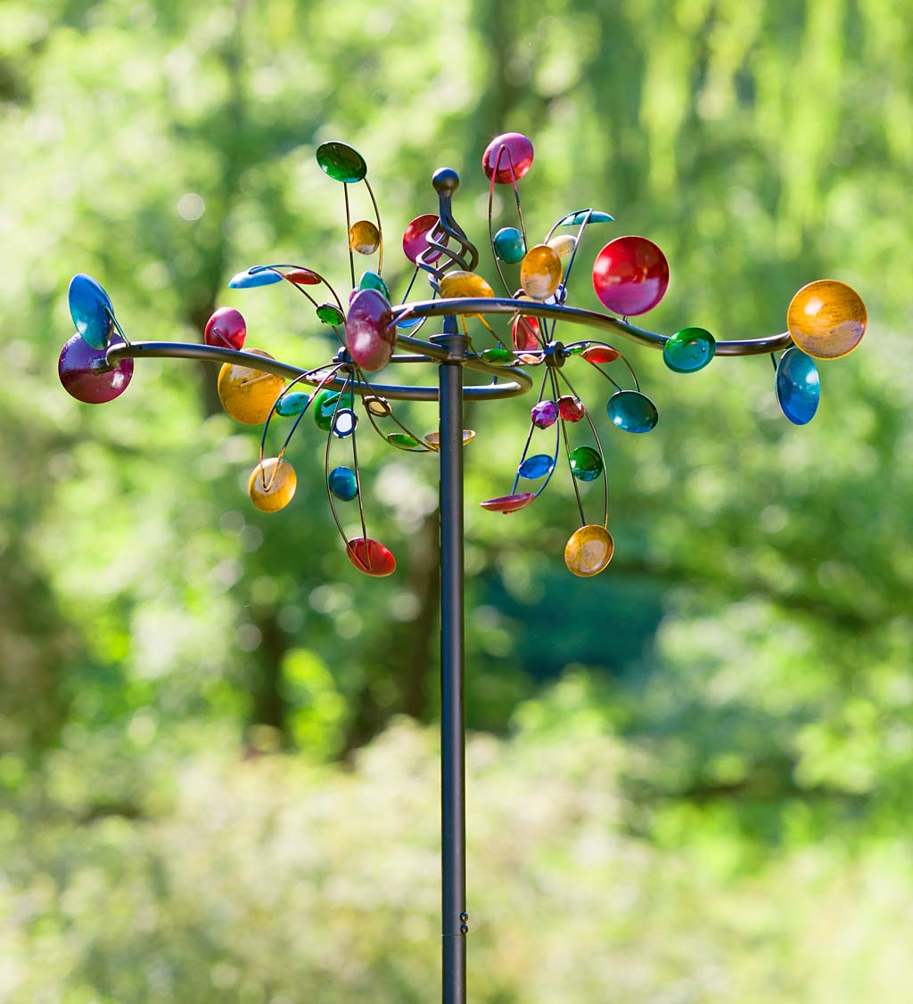 Horizontal Cups Garden Wind Spinner