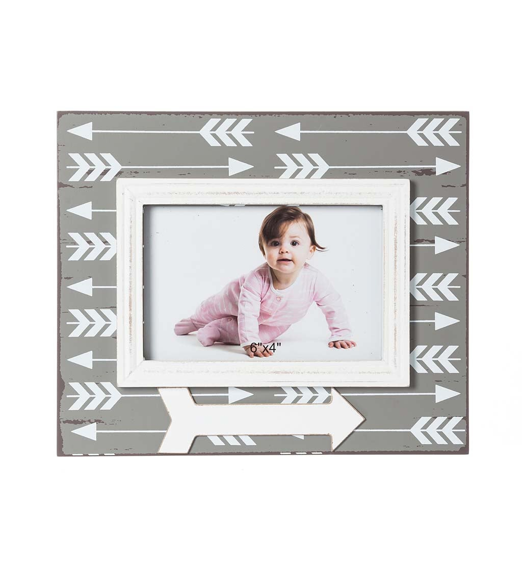 Wooden Arrow 4x6 Picture Frame