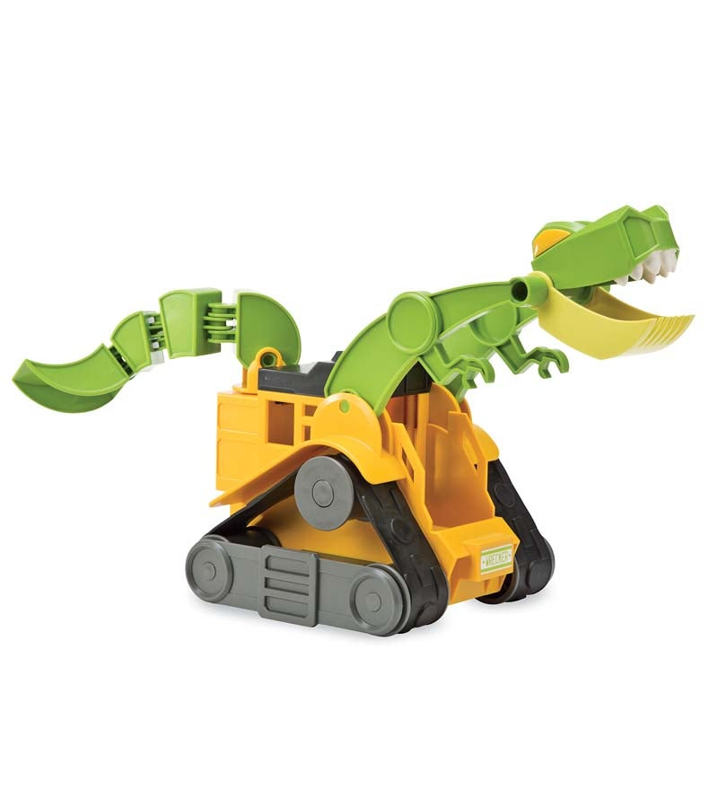 Dino 'Dozers Construction Toy, Wreaker the T-Rex Skid Loader