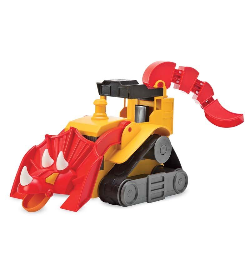 Dino 'Dozers Construction Toy, T-Top Triceratiops Bulldozer