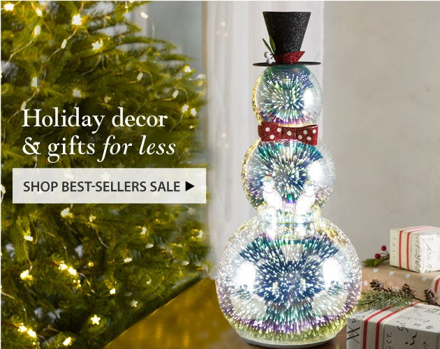 Holiday Decor & Gifts for less - Shop Best-Sellers Sale