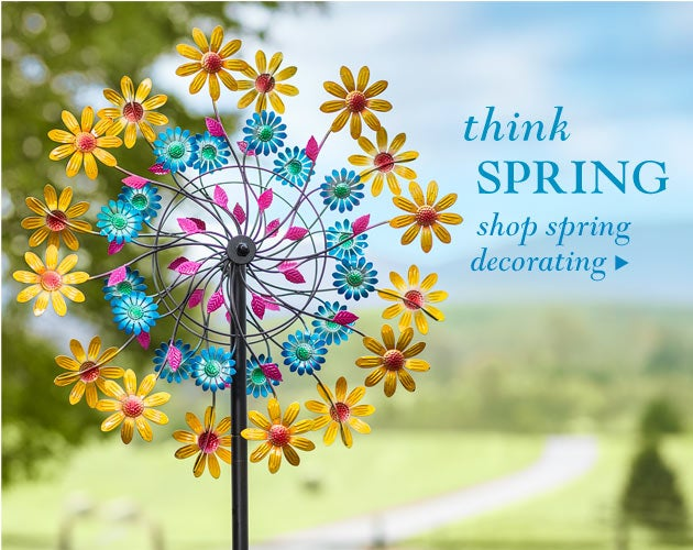 Think Spring - Shop Spring Decorating