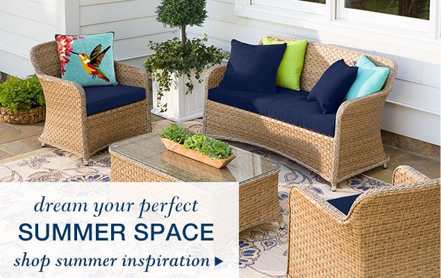 Dream your perfect summer space - shop summer inspiration