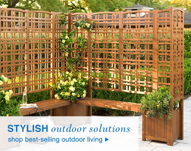 Stylish outdoor solutions - shop best-selling outdoor living