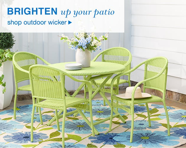 Brighten Up Your Patio