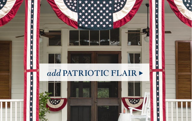 Add patriotic flair - Shop Americana Accents