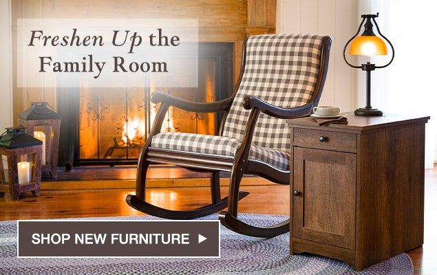 Freshen up the Family Room. Shop new Furniture
