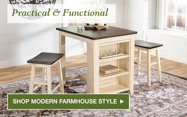Practical & Functional. Shop Modern Farmhouse Style