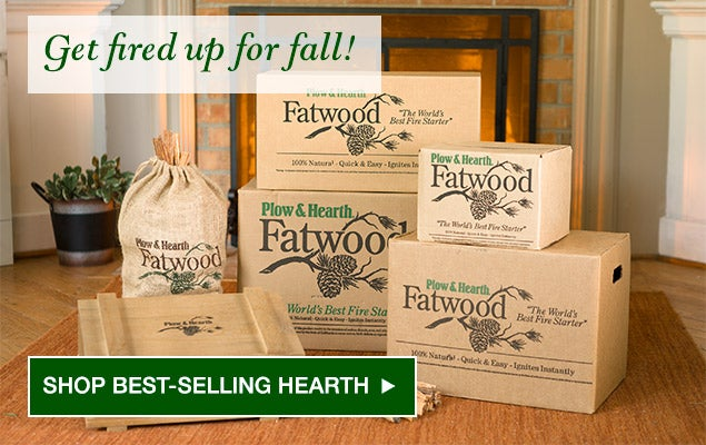 Get fired up for fall! SHOP BEST-SELLING HEARTH