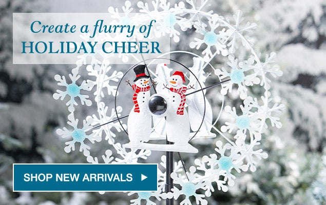 Create a flurry of holiday cheer - shop new arrivals