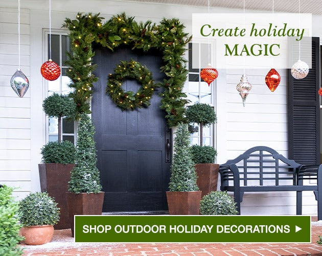 Create holiday magic - Shop Outdoor Holiday Decorations