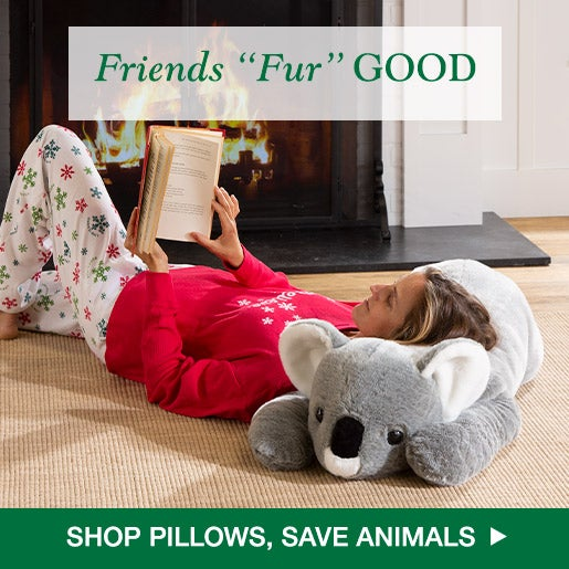 Friends Fur GOOD! Shop Pillows, Save Animals