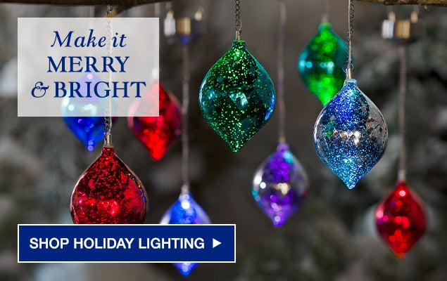 Make it Merry & Bright - Shop Holiday Lighting