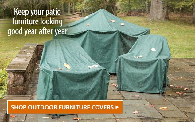 Image of Classic Outdoor Furniture Covers. SKeep your patio furniture looking good year after year - Shop Outdoor Furniture Covers