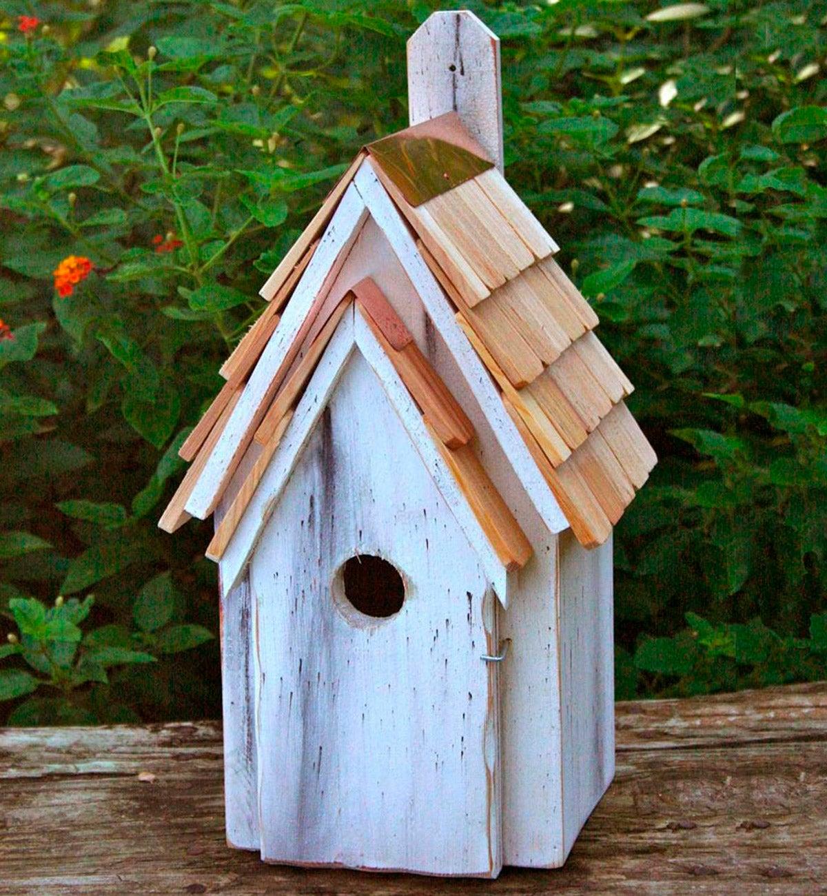 Bluebird Manor Cypress Birdhouse