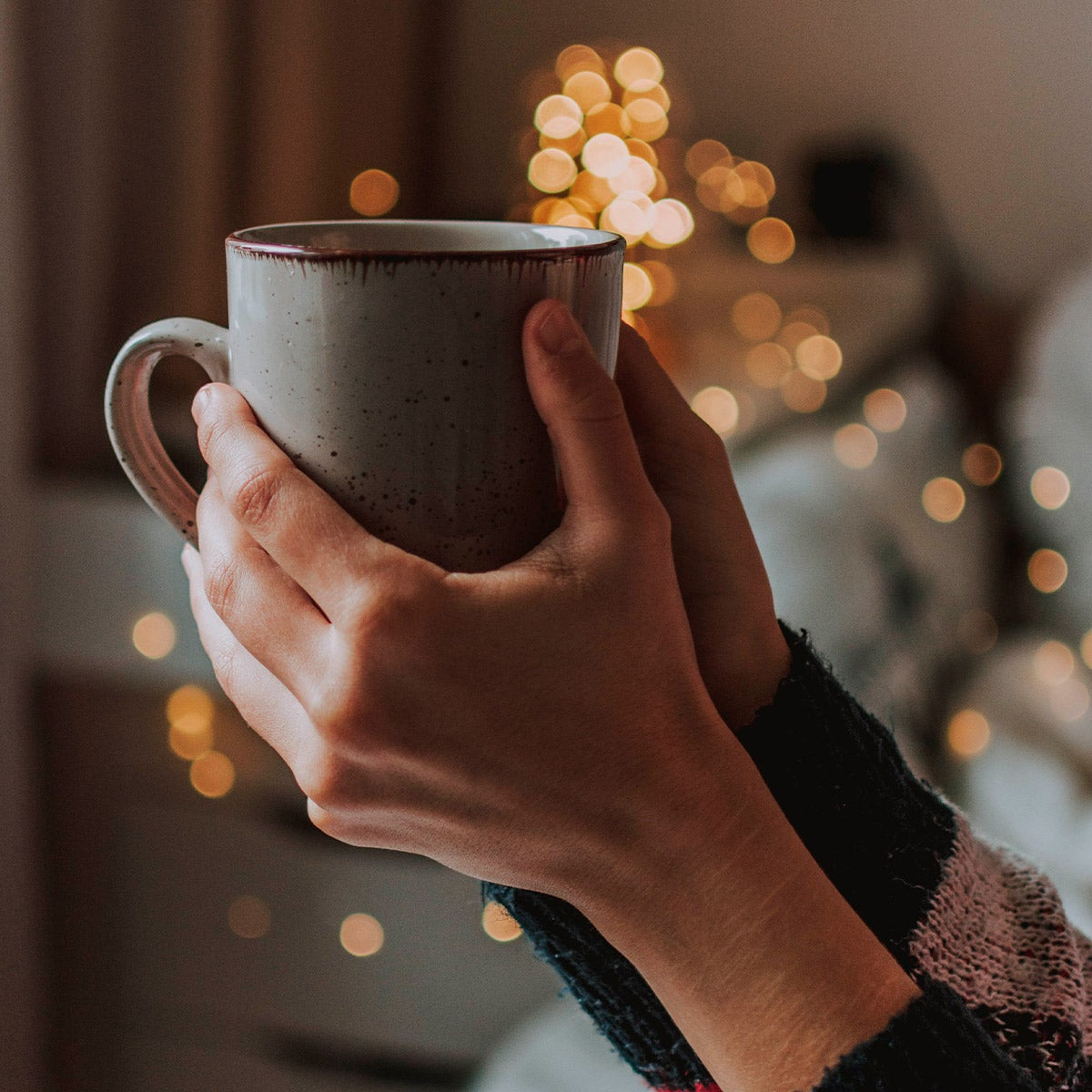 Farmhouse Glazed Ceramic Coffee Mug