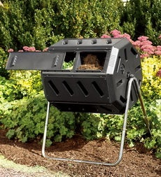 rotary style composter