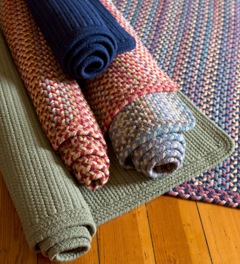 Classic Wool braided rugs