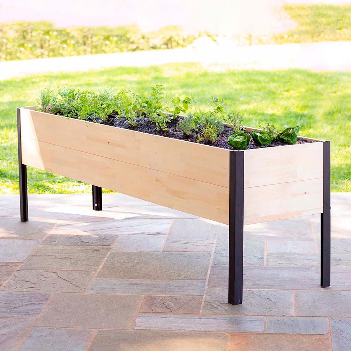 Cedar Raised Garden Planter Bed