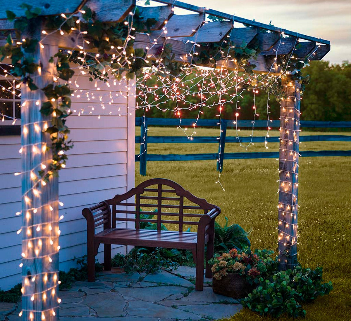 Multifunction Twinkle String Lights with Timer