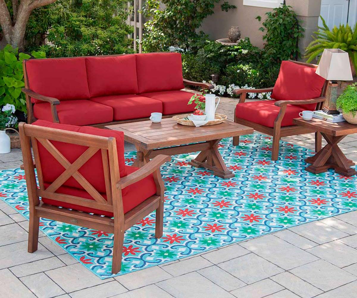 Claremont Seating Eucalyptus Outdoor Furniture