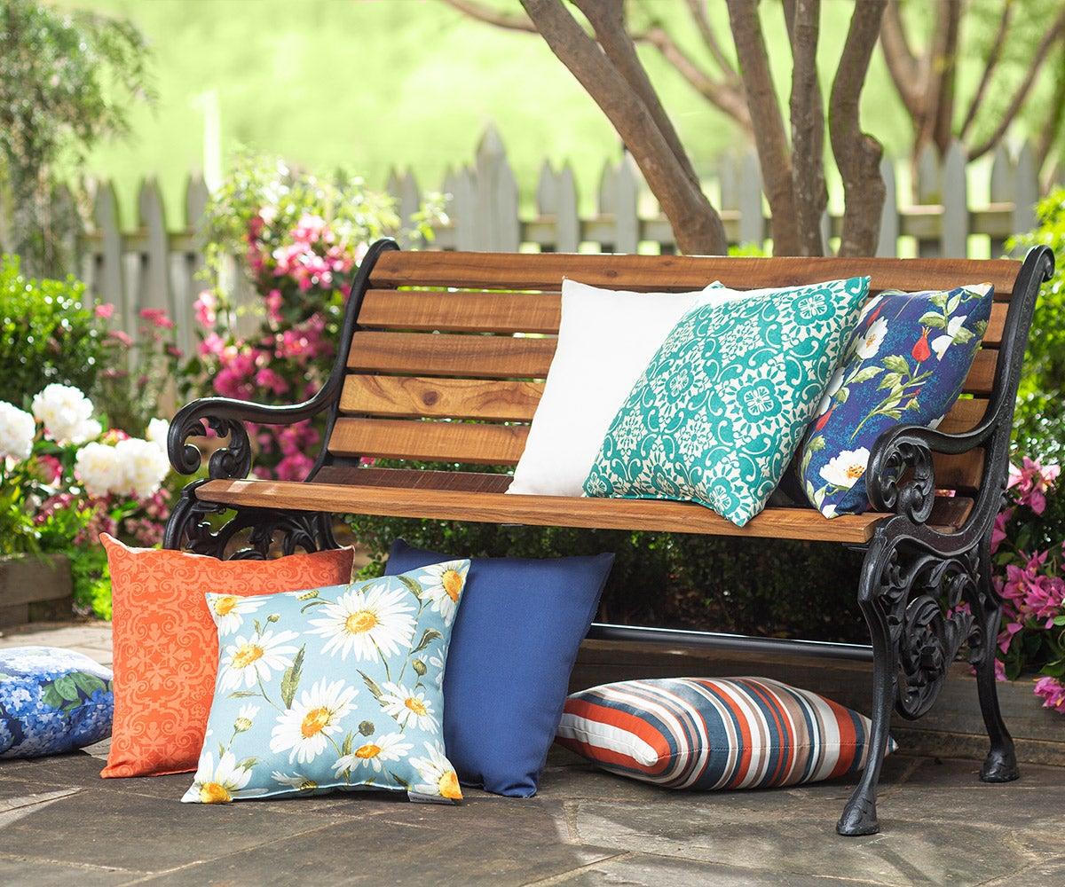 Houtdoor furniture pillows