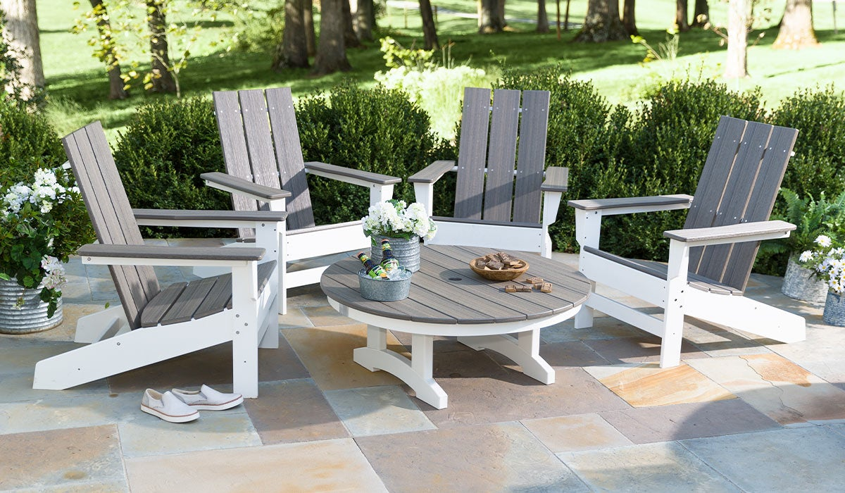 May River Outdoor Seating 5-Piece Conversation Set