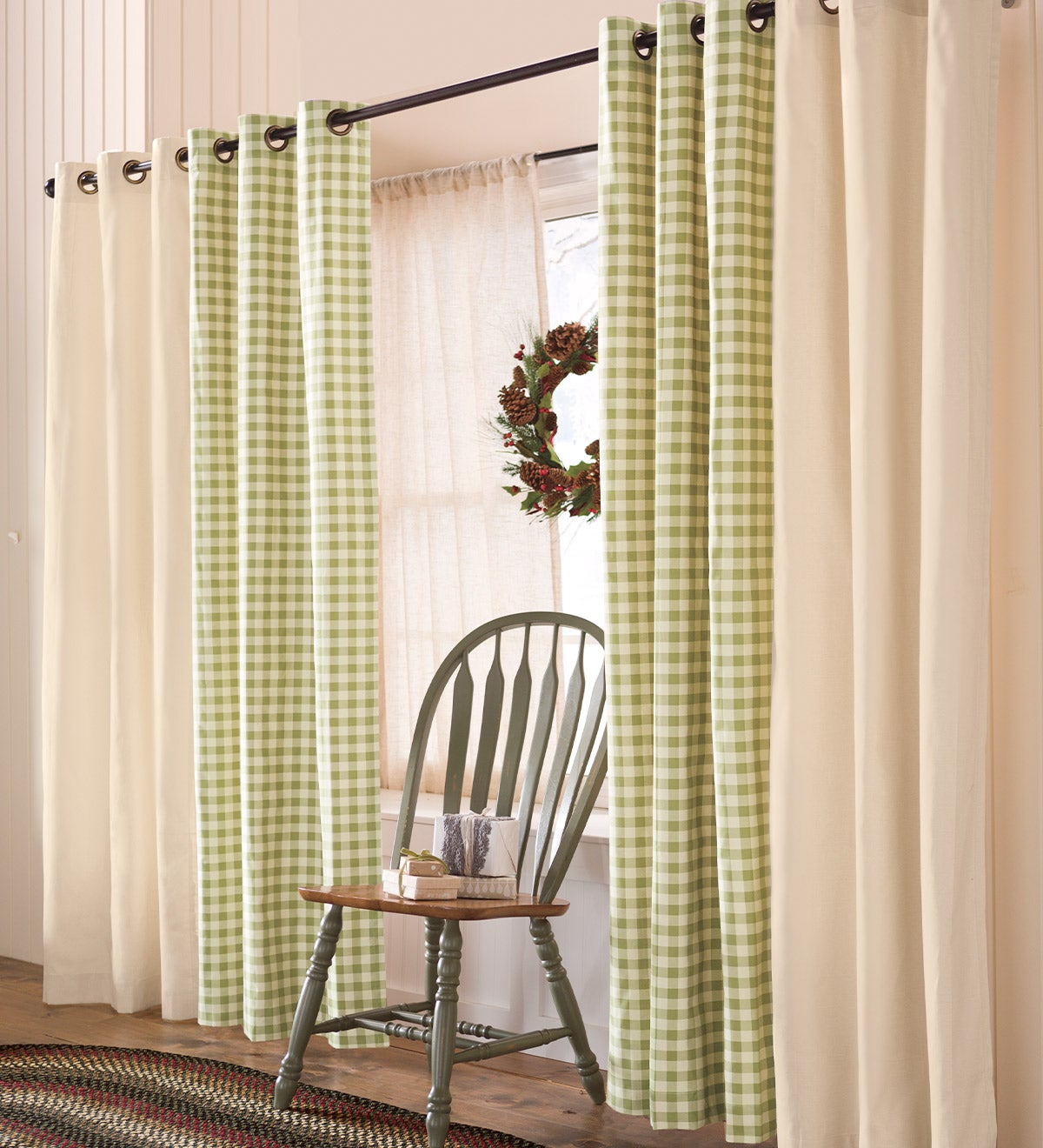 Thermalogic™ Energy Efficient Insulated Solid Grommet-Top Curtains