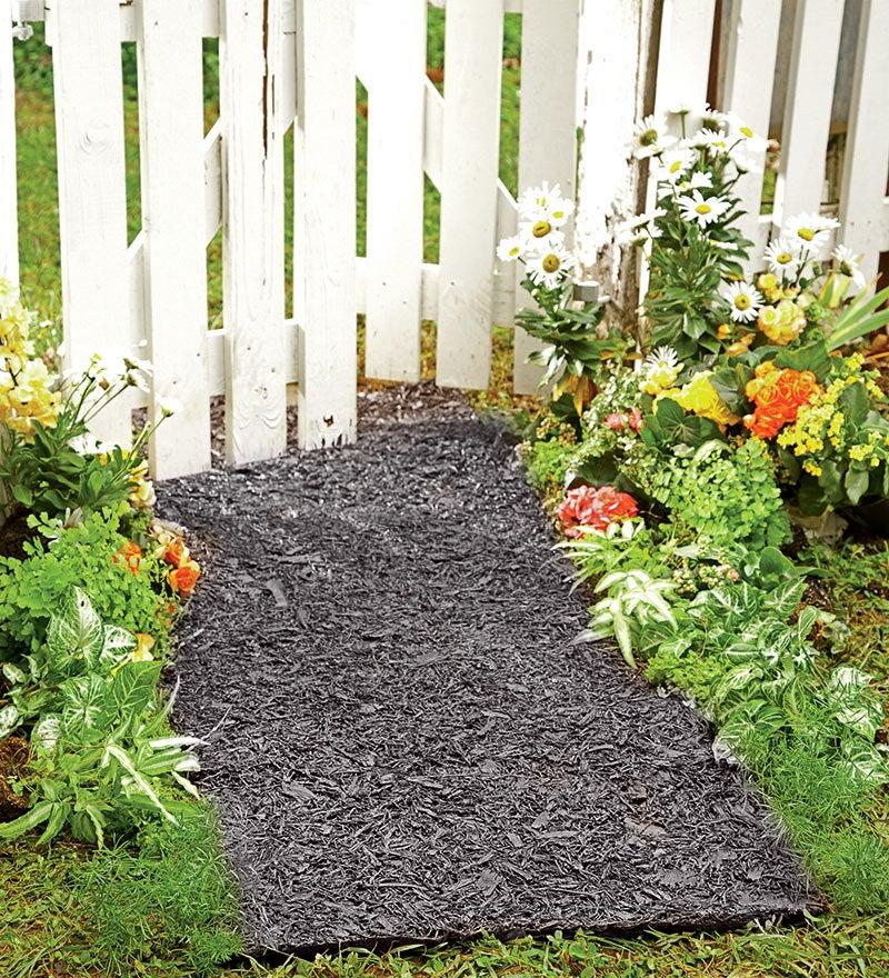 Permanent Mulch path