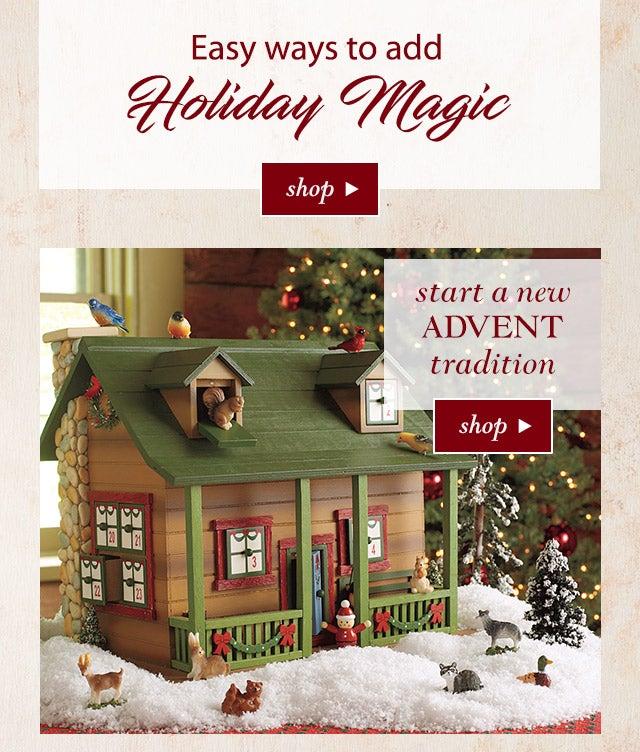 Easy ways to add holiday magic