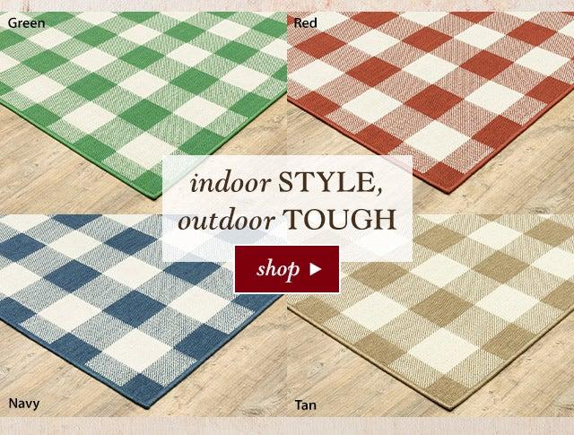 Indoor style, outdoor tough