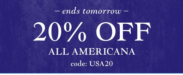 Ends Tomorrow: